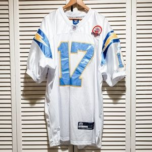 NWOT Reebok Onfield Philip Rivers Chargers Jersey